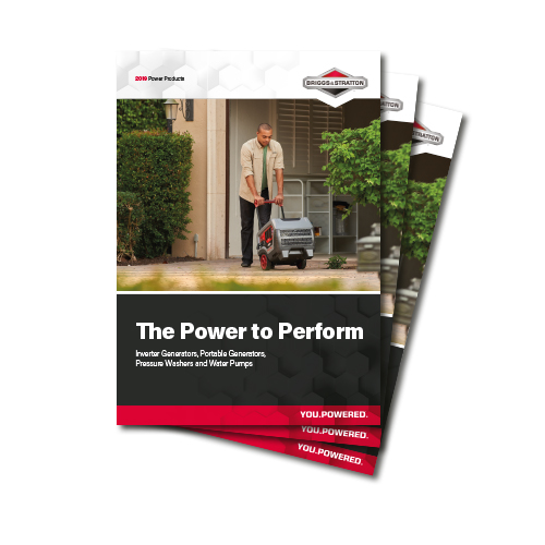 Briggs & Stratton Power Products Brochures